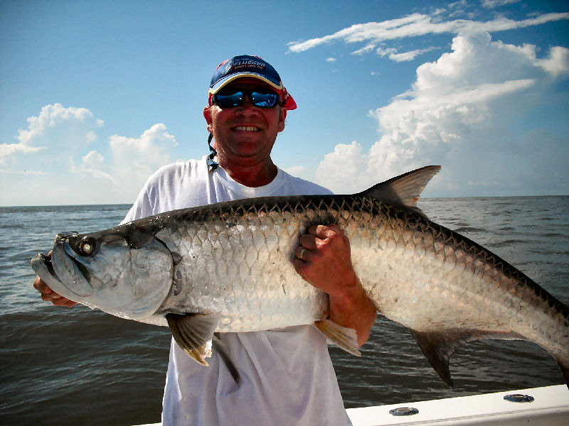 St simons shark and tarpon fishing charters for Tarpon fishing charters