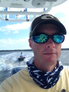 towing a boat at St. Simons Island