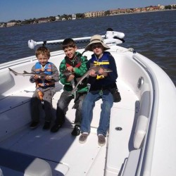 St. Simons Island Kids fishing trip