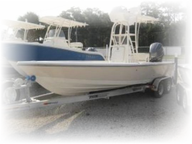 24 TRS Pathfinder bay boat