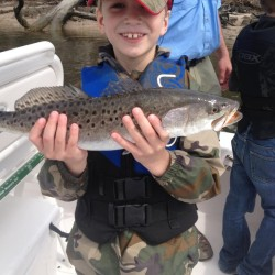 Kid with a Trout