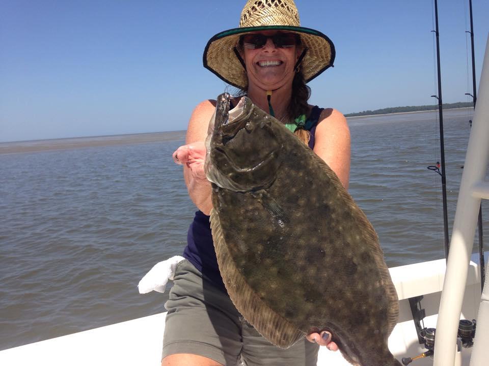 flounder fishing st simons island