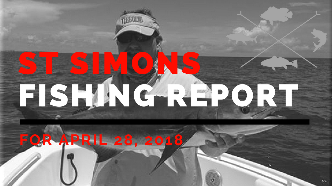 st simons island fishing report